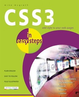 Book CSS3 in Easy Steps by Mike Mcgrath