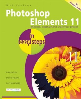 Book Photoshop Elements 11 in Easy Steps by Nick Vandome