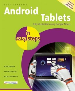 Book Android Tablets in Easy Steps by Nick Vandome