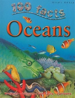 Book 100 FACTS OCEANS PB by Miles Kelly