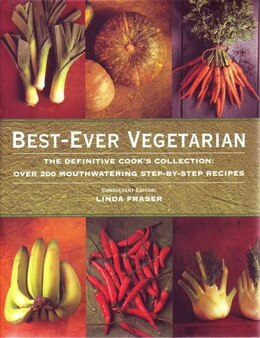 Book Best Ever Vegetarian Ckng by Linda Fraser