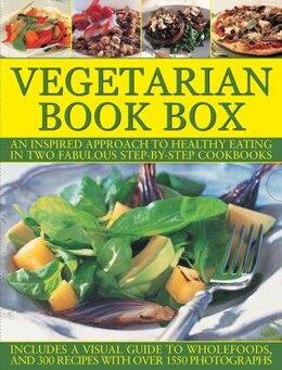 Book Complete Vegetarian Bk Box by Nicola Graimes