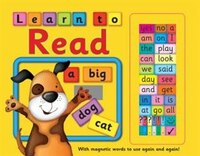 Learn To Read: With Magnetic Words To Use Again And Again!