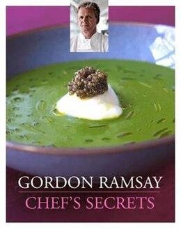 Book Gordon Ramsay Chef's Secrets by Gordon Ramsay