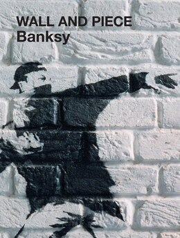 Book Wall and Piece by Banksy