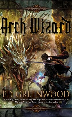 Book Arch Wizard by Ed Greenwood