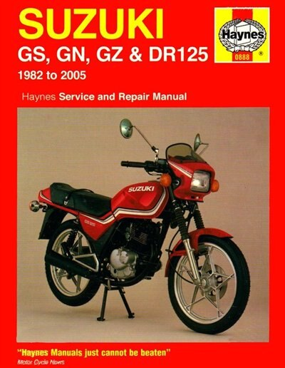 Suzuki Gs & Dr125, '82-'05 by Haynes Publishing