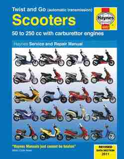 Twist And Go Scooters: 50 To 250 Cc With Carburetor Engines by BOB HENDERSON