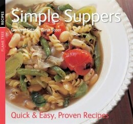Book SIMPLE SUPPERS by Steel Gina