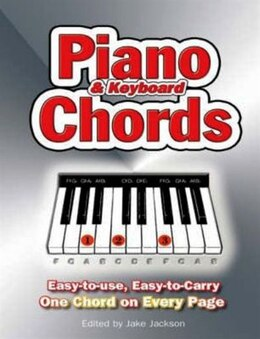 Book Piano Chords by Jake Jackson