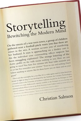Book Storytelling: Bewitching The Modern Mind by Christian Salmon
