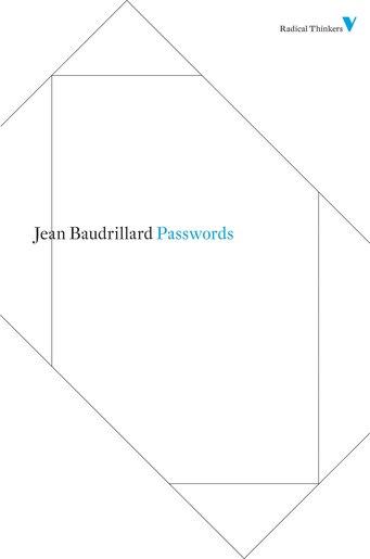 Passwords by Jean Baudrillard