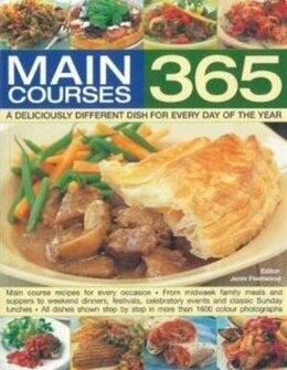 Book MAIN COURSES 365 by Fleetwood Jenni