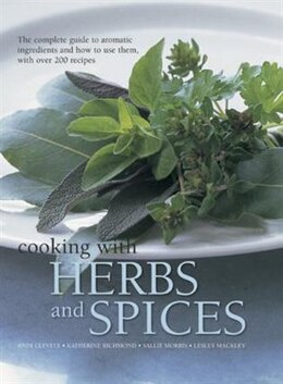 Book Ckng With Herbs & Spices by Andy Clevely