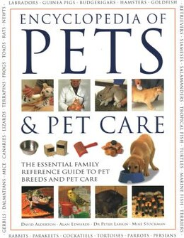Book ENCY OF PETS & PET CARE by Alberton David