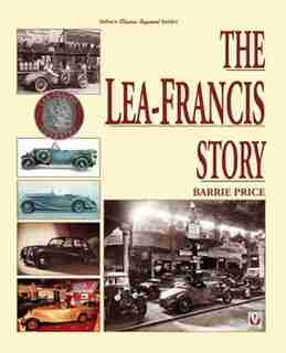The Lea-francis Story by Barrie Price