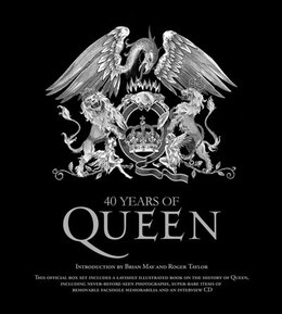 Book 40 Years Of Queen by Carlton Books