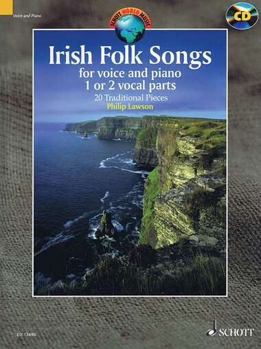 Irish Folk Songs: For Voice And Piano by Hal Leonard Corp.