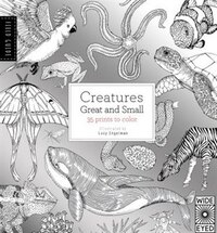 Field Guide: Creatures Great And Small: 35 Prints To Color