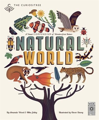 Curiositree: Natural World: A Visual Compendium Of Wonders From Nature - Jacket Unfolds Into A Huge Wall Poster! by Aj Wood