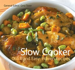 Book SLOW COOKER by Steel Gina