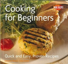 Book COOKING FOR BEGINNERS by Steel Gina