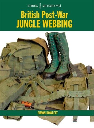British Post-War Jungle Webbing by Simon Howlett