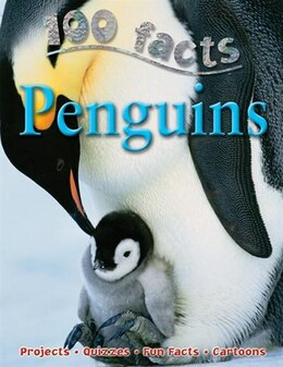 Book 100 Facts Penguins by NA