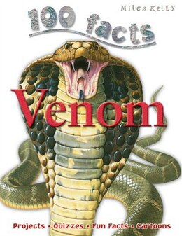 Book 100 FACTS VENOM PB by Miles Kelly