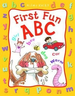 Book 1st Fun Abc by Miles Kelly
