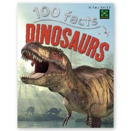Book 100 FACTS DINOSAURS by Parker Steve