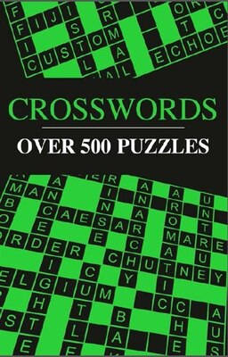 Book OVER 500 XWORDS NEON COVER by Publishing Arcturus