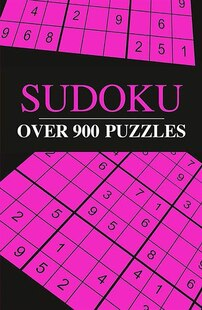 OVER 500 SUDOKU NEON COVER
