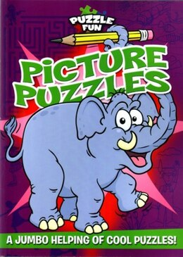 Book PUZZLE FUN PICTURE PUZZLES by Arcturus Publishing