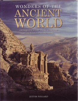 Book WONDERS OF THE ANCIENT WORLD by Pollard Justin
