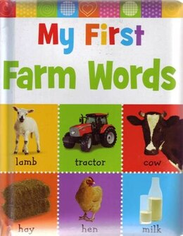 Book My First Farm Words by Make Believe