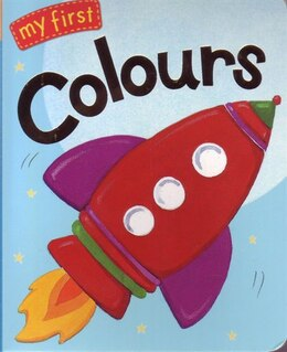 Book My First Book Of Coloura by Little Tiger