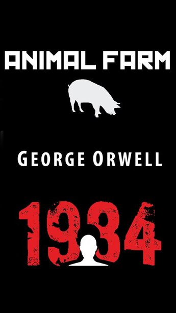 Animal Farm & 1984 by GEORGE ORWELL