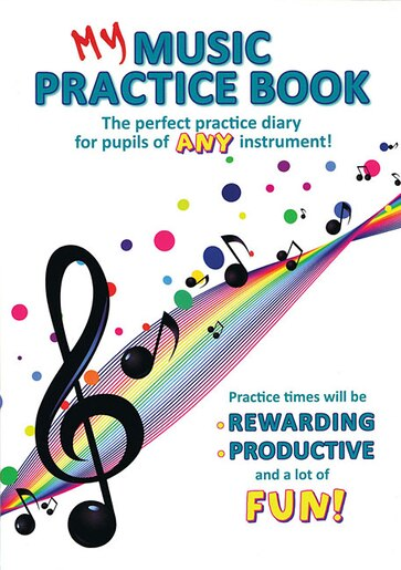 My Music Practice Book by Hal Leonard Corp.