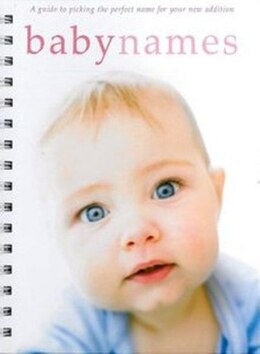 Book Baby Names by Pr Books