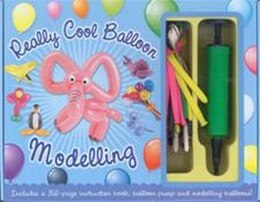 Book REALLY COOL BALLOON MODELLING KIT by Top That!