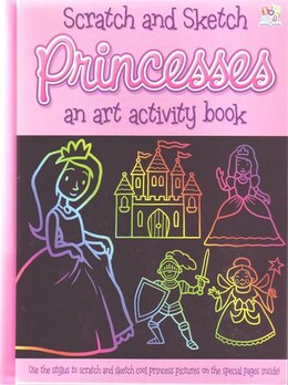 Book Scratch and Sketch Princesses by Top That!