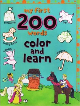 Book My First 200 Words Colour And Learn by Autumn Books