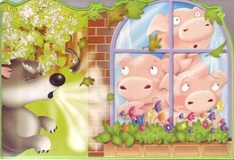 Book CHUNKY THREE LITTLE PIGS by Books Autumn