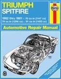 Triumph Spitfire, 1962-1981 by John Haynes