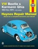 Vw Beetle 1200 And Karmann Ghia 1954-1979 by John Haynes