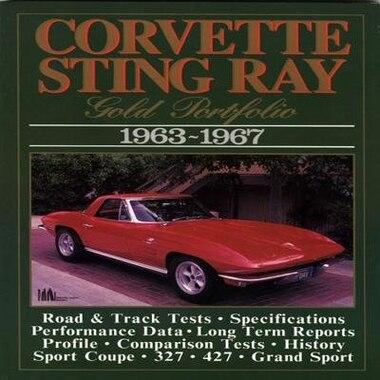 Corvette Stingray 1963-1967 by R.M. Clarke
