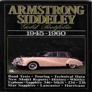 Armstrong Siddeley: Gold Portfolio 1945-1960 by R.M. Clarke