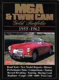 MGA & Twin Cams 1955-1962 -Gold Portfolio by R.M. Clarke