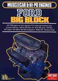 Musclecar and Hi-Po Engines Ford Big Block by R.M. Clarke